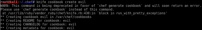 Raining Shells with a Chef Server - Chef cookbook creation