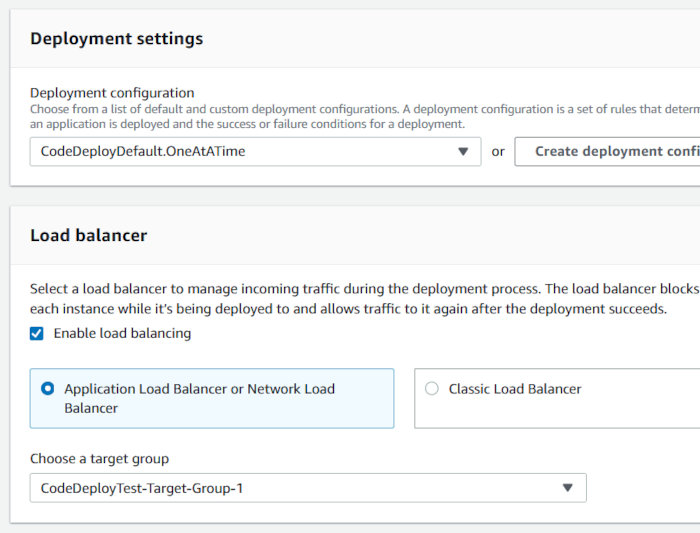 Using CodePipeline, CodeDeploy, and CodeCommit with an EC2 AutoScaling Group - CodeDeploy Deployment