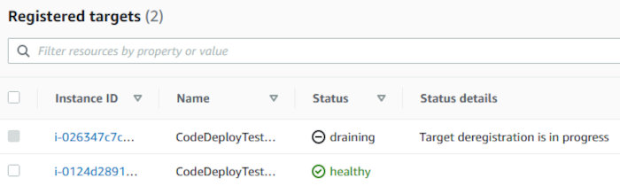 Using CodePipeline, CodeDeploy, and CodeCommit with an EC2 AutoScaling Group - Instance ELB Deregistration