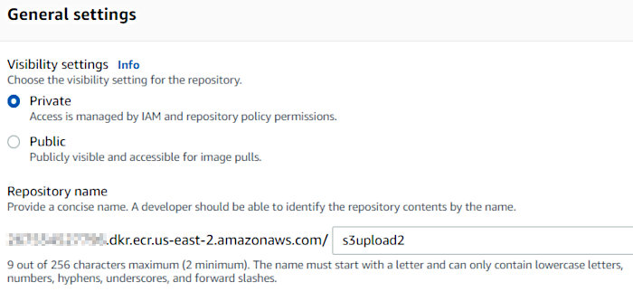 Using CodePipeline again with Elastic Container Service - ECR Repo